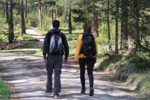 couple en randonnée