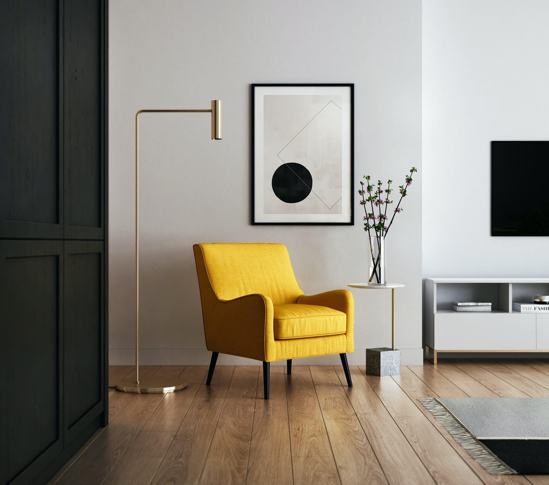Quel lampadaire choisir pour le salon?